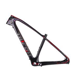 New Trending 29er MTB 142x12 Thru Axle 19 Disc Carbon BB68 Mountain Bike Frame