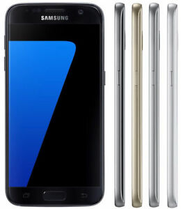 AT&T ONLY Samsung Galaxy S7 32GB SM-G930A GSM 4G LTE Android Smartphone Great!