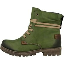 Rieker Eagle-Ambor Shoes Women's Ankle Boots Boots Leaf Mahagony 78530-52