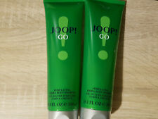 2x Joop Go Shower Gel for Men Extra LARGE - 300 ml, Body Wash, Luxury Soap Homme