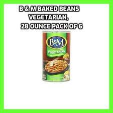 B & M Baked Beans, Vegetarian, 28 Ounce (Pack of 12)