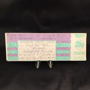 Billy Ray Cyrus Blockbuster Pavilion Devore CA Concert Ticket Stub Vintage 1993
