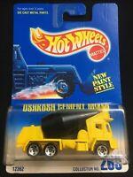 Hot Wheels Mattel Oshkosh Cement Mixer Die Cast Metal Collector No. 269 NIP 1991