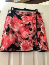NWT Ladies EP PRO SPORT Mahalo Coral Floral Pullon knit Golf Skort size M