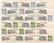 DDR MiNr. 2864-2867 (Schmalspurbahnen IV) kpl. Zusammendruckgarnitur postfrisch