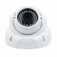 DRIPSTONE 2.1MP 1080P CCTV SECURITY HD-TVI CAMERA 2.8-12MM LENS 36IR WHITE