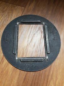 Gnome? enlarger neg carrier quarter plate large format cut sheet film darkroom