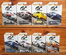 Hot Wheels 2018 GRAN TURISMO Series Full Set of 8 inc. SKYLINE GT-R (R34) (A+/A*