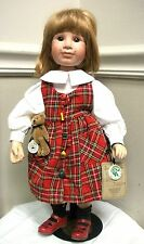 2000 Yesterday'S Child Porcelain Doll Limited Edition Christa Boyds Collection