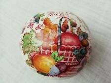 Vintage Masons Ironstone Pomander Fruit Basket Pattern Potpourri Scent Ball