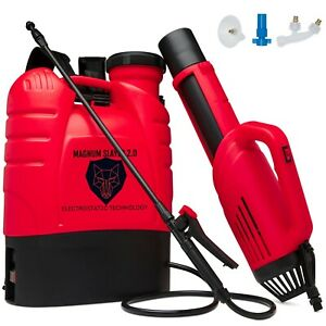 Magnum Slayer 2.0- Professional Cordless Electrostatic Sprayer for Disinfecting