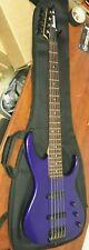 Ibanez EXB445 Electric Bass Guitar Purple w/ Fender Soft Case