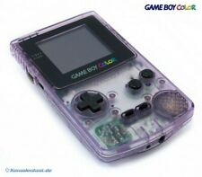 Nintendo GameBoy Color - Konsole #Clear/Atomic Purple NEUWERTIG