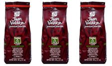 Juan Valdez Premium Fuerte  Ground Coffee  3 pack Colombian coffee 12oz