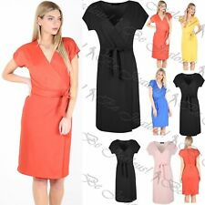 Unbranded Plus Size Wrap Dresses for Women