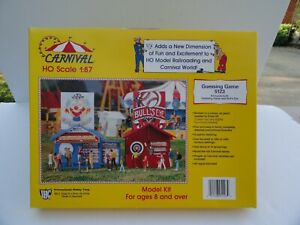 IHC #5123 HO Scale CARNIVAL GUESSING GAME BOOTH Kit-Open box Bin 37