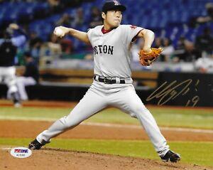 Koji Uehara Boston Red Sox Signed 8x10 Photo Autographed PSA/DNA COA AC15265