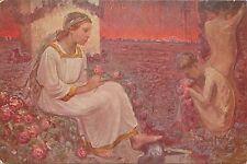 WW1 Artist Signed G. R. Vercelli - Rose ai nostri Morti