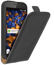 mumbi Leder Flip Case für Motorola Moto G 3. Generation Hülle Tasche Schutzhülle