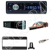 Caliber RMD021 Autoradio + Ford Fiesta,Cougar,Mazda121 Blende black +ISO Adapter