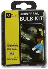 Aa coche Essentials Compacto De Viaje Universal Bombilla de repuesto & Kit De Fusibles H1 H7 H4