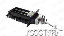 Vespa Giuliari PX Yankee T5 Pole Position Seat Lock Assembly Extra Long Black