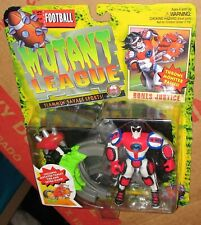 Mutant League Football Bones Justice Action Figure MOC Sealed Galoob 1994