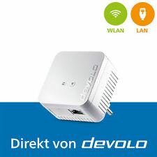 devolo dLAN 550 WiFi, 1 Powerline Adapter, WLAN Verstärker 500 Mbps