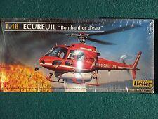 Heller Ecureuil ''Bombardier d'eau'' 1/48 BNIB Vintage Rare Helicopter
