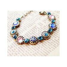 Chic Boho Multi Colour Gemstone Bracelet (786)