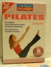 Caribbean Workout 2 Pack - Pilates/Pilates Plus (DVD, 2006, 2-Disc Set)
