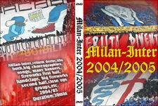 DVD MILAN-INTER 2004/2005-----CURVA SUD MILANO,AC MILAN 1899,CURVA NORD INTER