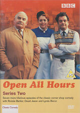OPEN ALL HOURS - Complete 2nd Series. Ronnie Barker (DVD 2003)