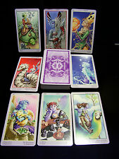 SEALED & BRAND NEW! THE FEY TAROT CARD ORACLE BEAUTIFUL COLOR FANTASY DIVINATION
