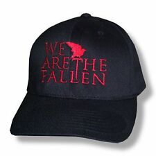 WE ARE THE FALLEN RED BIRD LOGO FITTED BASEBALL HAT CAP L/XL NEW