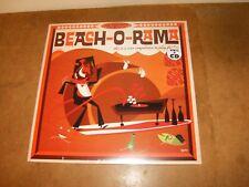 LP VINYL + CD - BEACH-O-RAMA  - VARIOUS ARTISTS /  ROCK - MOD - POPCORN