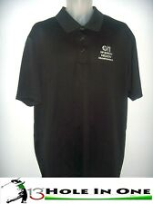Adidas ClimaLite Men's Golf Shirt Short Sleeve Size Xl Black Nice Polyester +