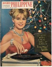 MAGAZINE *BONJOUR PHILIPPINE* JANVIER 1962 (SOPHIE DAUMIER / JOHNNY HALLYDAY)