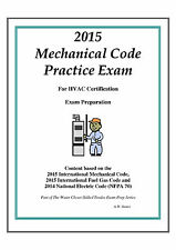 2015 International Mechanical Code Practice Exam on USB Flash Drive