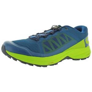 Salomon Mens XA Elevate Blue Athletic Shoes Sneakers 8 Medium (D) BHFO 3171