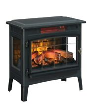 Electric Fireplace Heater For Home Portable Room Thermostat Remote Control NEW..