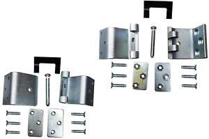 Door Hinge Side Loading Door Lower and Upper Right Door Set of 2