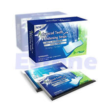 14pairs Pro Teeth Whitening Strips Bleaching Whiter Whitestrips Oral Tooth Care