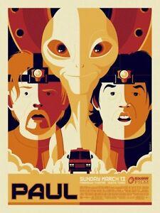 "Mondo Paul SXSW 2013 Poster Print by Tom Whalen 18"" x 24″ Ed 225"