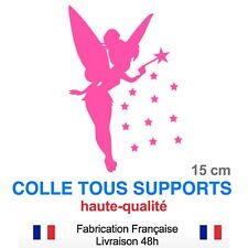 Stickers Fée Clochette pour voiture 16 cm, différentes couleurs cf148df5e32e
