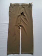 ALBERTO Pantalones Hombre CERAMICA Stretch marrón claro talla 26/52kurz NUEVO