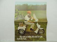 Vintage BSA Motorcycle Scooter Poster Ariel 3 L6808