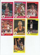 1985 Star Company Basketball Card Lot Chicago Bulls Phoenix Suns Milwaukee Bucks