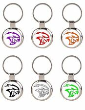 DODGE SRT HELLCAT CHARGER / CHALLENGER KEYCHAIN KEY CHAIN - PICK COLOR