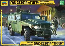 "GAZ-233014 ""TIGER"" ARMORED VEHICLE ZVEZDA 1/35 PLASTIC KIT"